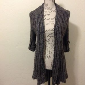 BCBG MaxAzria Gray Sweater Cardigan